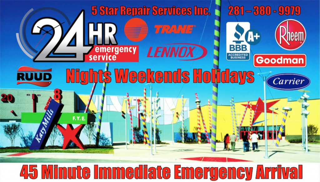 Ac Repair 24 Hour Katy Cinco Ranch Emergency