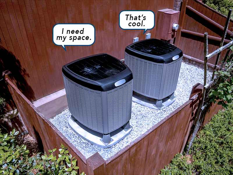 side-by-side-condensers