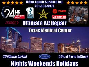 emergency-acrepair-Texas-Medical-Center-Houston-tx-77030-TMC